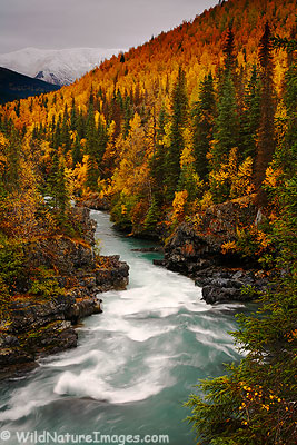 Six Mile Creek, Alaska.