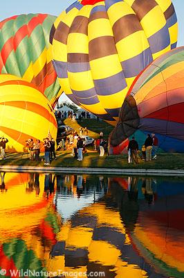 Hot Air Balloons at Fountain Hills