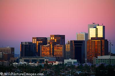 Phoenix Skyline Photo