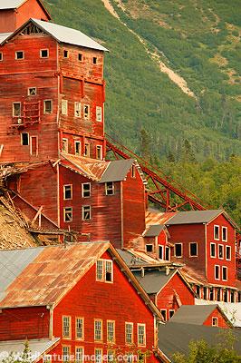 Kennecott Mill, Wrangel-St Elias National Park, Alaska