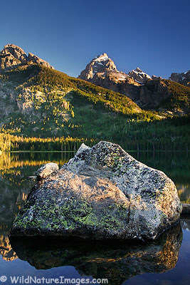 Taggart Lake Photo, Grand Teton National Park