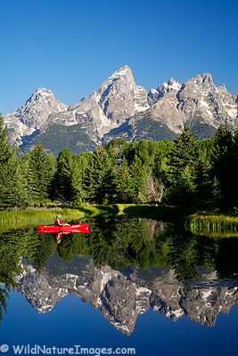 Kayaking Grand Teton National Park