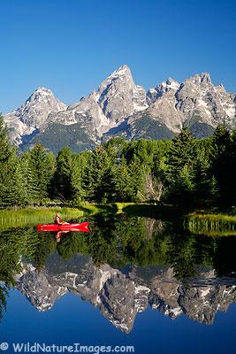 Kayaking Grand Teton National Park