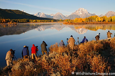 Oxbow Bend, Grand Teton National Park, Wyoming.