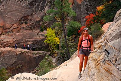 Hidden Canyon Trail, Zion National Park, Utah