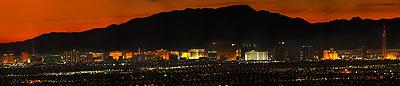 Las Vegas Panoramic Photo