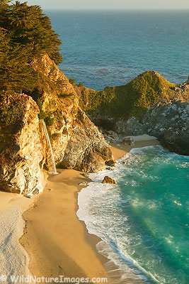 McWay Creek Falls, Julia Pfeiffer-Burns State Park, Big Sur Coast, California