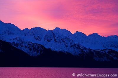 Seward, Alaska Sunrise